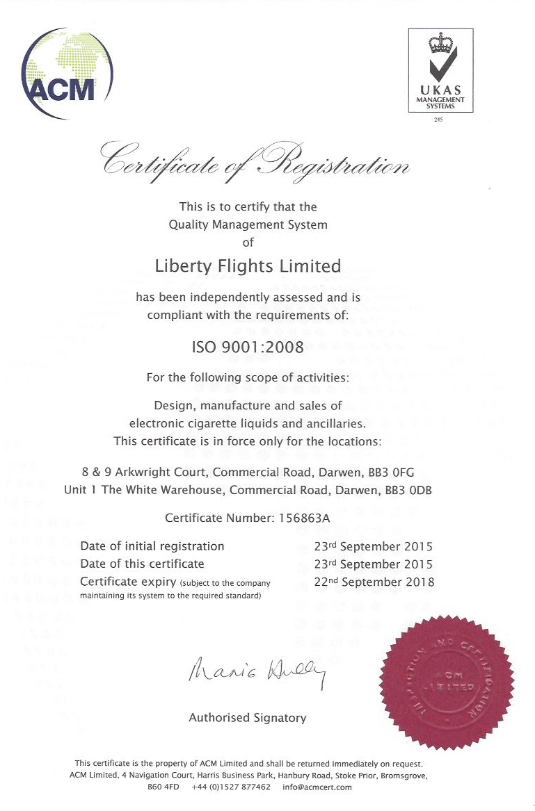 liberty-flights-iso-accreditation