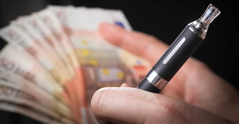 is vaping cheaper than smoking uk