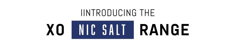 Introducing XO Nicotine Salt Range